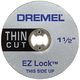 Dremel EZ409 1/2 in. EZ Lock Thin Cut Cut-Off Wheel