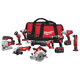Factory Reconditioned Milwaukee 2696-89 M18 18V Cordless Lithium-Ion 9-Tool Combo Kit