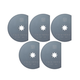 Fein 63502106080 MultiMaster 3-1/8 in. High Speed Steel Segment Saw Blade (5-Pack)