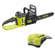 Factory Reconditioned Ryobi ZRRY40511 40V Cordless Brushless Lithium-Ion 14 in. Chainsaw