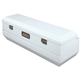 JOBOX JSH1434980 Steel Long-Bed Fullsize Chest - White