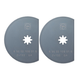 Fein 63502106070 MultiMaster 3-1/8 in. High Speed Steel Segment Saw Blade (2-Pack)