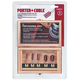 Porter-Cable PCRBS05 5-Piece Straight Router Bit Set with Case
