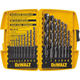Dewalt DW1167 17-Piece Black Oxide Drill Bit Set