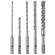 Bosch HCK005 5-Piece SDS-plus S4 Hammer Carbide Set