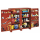 JOBOX 1-698990 Extra Heavy-Duty Deep 2-Door Utility Cabinet with Door Shelves