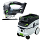 Festool P26561690 CARVEX 18V Cordless Lithium-Ion D-Handle Jigsaw (Bare Tool) plus CT 26 E 6.9 Gallon HEPA Mobile Dust Extractor