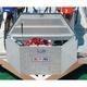 Delta Pro/JOBOX 415000D 33 in. Long Aluminum Trailer Tongue Box - Bright (Open Box)