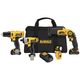 Factory Reconditioned Dewalt DCK413S2R 12V MAX Cordless Lithium-Ion 4-Tool Combo Kit