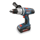 Factory Reconditioned Bosch 18636-01-RT 36V Cordless Lithium-Ion Brute Tough 1/2 in. Hammer Drill Driver with 1 SlimPack, 1 FatPack Battery and Case