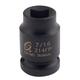 Sunex 214FP 1/2 in. Drive 7/16 in. SAE Female Pipe Plug Socket