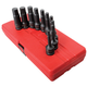 Sunex 2638 10-Piece 1/2 in. Drive SAE Hex Impact Driver Set