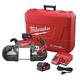 Factory Reconditioned Milwaukee 2729-82 M18 FUEL Cordless Lithium-Ion Deep Cut Band Saw with 2 XC 5.0 Ah Batteries