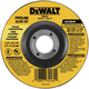 Dewalt DW8437-BNDL10 7 in. x 1/8 in. A24R High Performance Pipeline Grinding Abrasives (10-Pack)