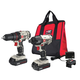 Factory Reconditioned Porter-Cable PCCK604L2R 20V Max Cordless Lithium-Ion Drill Driver and Impact Drill Kit