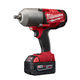 Factory Reconditioned Milwaukee 2763-82 M18 FUEL Cordless 1/2 in. High Torque Impact Wrench with Friction Ring with 2 REDLITHIUM Batteries
