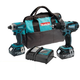 Factory Reconditioned Makita XT260-R LXT 18V Cordless Lithium-Ion Drill-Driver and Impact Driver Combo Kit