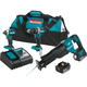 Makita XT328M 18V LXT 4.0 Ah Cordless Lithium-Ion Brushless 3-Piece Combo Kit