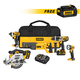 Dewalt DCK592L2-DCB200-BNDL 20V MAX Lithium-Ion Premium 5-Tool Combo Kit with FREE 20V MAX 3.0 Ah Lithium-Ion Battery Pack