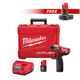 Milwaukee 2453-2440-BNDL M12 FUEL 12V Lithium-Ion 1/4 in. Hex Impact Driver Kit with FREE M12 REDLITHIUM XC 4.0 Ah Extended Capacity Battery Pack