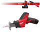 Milwaukee 2420-SEPT15-BNDL2 M12 FUEL 12V Cordless Hackzall Reciprocating Saw with M12 XC 12V 4.0 Ah REDLITHIUM Battery & FASTBACK Spring Assisted Serrated Knife