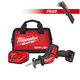 Milwaukee 2520XC-2415-BNDL M12 FUEL 12V Lithium-Ion HACKZALL Recip Saw Kit with XC Battery & FREE M12 3/8 in. Right Angle Drill Driver