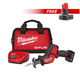 Milwaukee 2520XC-2440-BNDL M12 FUEL 12V Lithium-Ion HACKZALL Recip Saw Kit with FREE M12 REDLITHIUM XC 4.0 Ah Extended Capacity Battery Pack