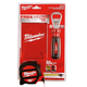 Milwaukee 48-22-5116P 16 ft. Magnetic Tape Measure with 2 Coozies and Bottle Opener