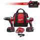Milwaukee 2697-SEPT15-BNDL1 M18 18V Cordless Lithium-Ion 2-Tool High Performance Combo Kit with FREE M18 XC 18V 4.0 Ah REDLITHIUM Lithium-Ion Battery