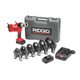 Ridgid 632-43358 18V Cordless Lithium-Ion Press Tool Kit with 1/2 in. - 2 in. ProPress Jaw Set