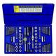 Irwin Hanson 26376 76-Piece Machine Screw SAE/Metric Tap and Hex Die Set