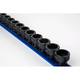 Sunex 2673 15-Piece 1/2 in. Drive Low Profile Metric Impact Socket Set
