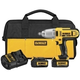 Dewalt DCF889HL2 20V MAX Cordless Lithium-Ion 1/2 in. High-Torque Impact Wrench with Hog Ring Anvil Kit