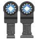 Bosch OSL002C 2-Piece OSL034C/OSL114C Starlock Oscillating Multi-Tool Accessory Blade Set