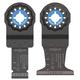 Bosch OSL002CH 2-Piece OSL034C/OSL134C Starlock Oscillating Multi-Tool Accessory Blade Set
