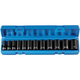 Grey Pneumatic 1213SD 12-Piece 3/8 in. Drive 6 Point Semi-Deep Socket Set