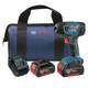Factory Reconditioned Bosch 25618-01-RT 18V Cordless Lithium-Ion 1/4 in. Impact Driver with FatPack Batteries