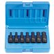 Grey Pneumatic 1297MH 3/8 in. Drive 7-Piece Hex Driver Metric Set