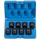 Grey Pneumatic 1308P 1/2 in. Drive 8-Piece Pipe Plug Socket Set