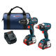Bosch CLPK251-181 18V 4.0 Ah Cordless Lithium-Ion EC Brushless Impact Driver and Drill Driver Combo Kit