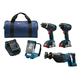 Bosch CLPK495-181 18V 2.0 Ah Cordless Lithium-Ion 4-Tool Combo Kit