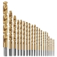 Bosch TI21A 21-Piece Titanium-Coated Metal Drill Bit Set