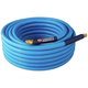 Campbell Hausfeld PA121600AV 3/8 in. x 50 ft. Blue PVC Air Hose with Bend Restrictors