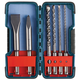 Bosch HCST006 6-Piece SDS-Plus Bulldog Rotary Hammer Bit Set