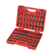 Sunex 3569 84-Piece 3/8 in. Dr. Master Hex Bit Impact Socket Set
