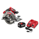 Milwaukee 48-59-1890PC M18 FUEL 18-Volt Lithium Ion Brushless Cordless 7 1/4 in. Circular Saw with M18 18-Volt 9.0Ah Starter Kit