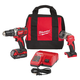 Milwaukee 2606-21L M18 18V Cordless Lithium-Ion Compact 1/2 in. Drill Driver Kit with Free LED Work Light