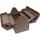 Homak BW00210180 18 in. Cantilever Steel Toolbox (Brown)