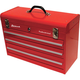 Homak RD00203200 20 in. 3 Drawer Friction Toolbox (Red)