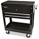 Homak BK06022704 27 in. 2 Drawer Mobile Tool Cart